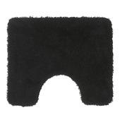 GAMMA Lusanne toiletmat zwart 60 x 50 cm