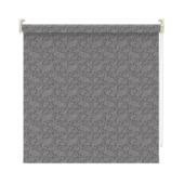 GAMMA rolgordijn lichtdoorlatend dessin 3586 antraciet metallic print 150x190 cm
