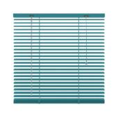 GAMMA horizontale jaloezie  282 aluminium 25 mm blauw atol 120x180 cm