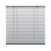 GAMMA horizontale jaloezie  221 aluminium 25 mm zilver 80x130 cm