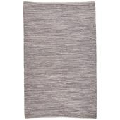 Tapijt VT Wonen woven thread grijs 100% katoen 130x200 cm
