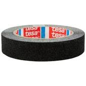 Tesa tape anti-slip 5 m x 25 mm zwart