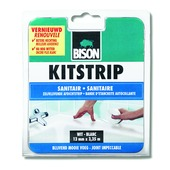 Bison kitstrip sanitair wit 38 mm x 3,35 m