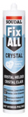 Soudal Fix All montage- en afdichtingskit crystal transparant 290 ml
