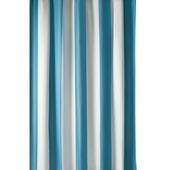 GAMMA Amber douchegordijn textiel polyester appelblauwzeegroen/wit 180 x 200 cm