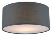 GAMMA plafondlamp Fenna E27 max. 40 W excl. lamp grijs