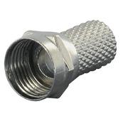 Q-link F-connector voor coaxkabel 5 mm² 6 stuks