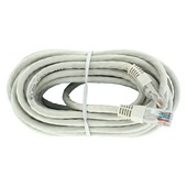 Q-link UTP kabel CAT6 5 m wit incl. RJ45 connectoren