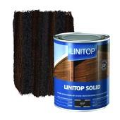 Linitop Solid houtbescherming zijdeglans palissander 1 L