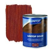 Linitop Solid houtbescherming zijdeglans mahonie 2,5 L