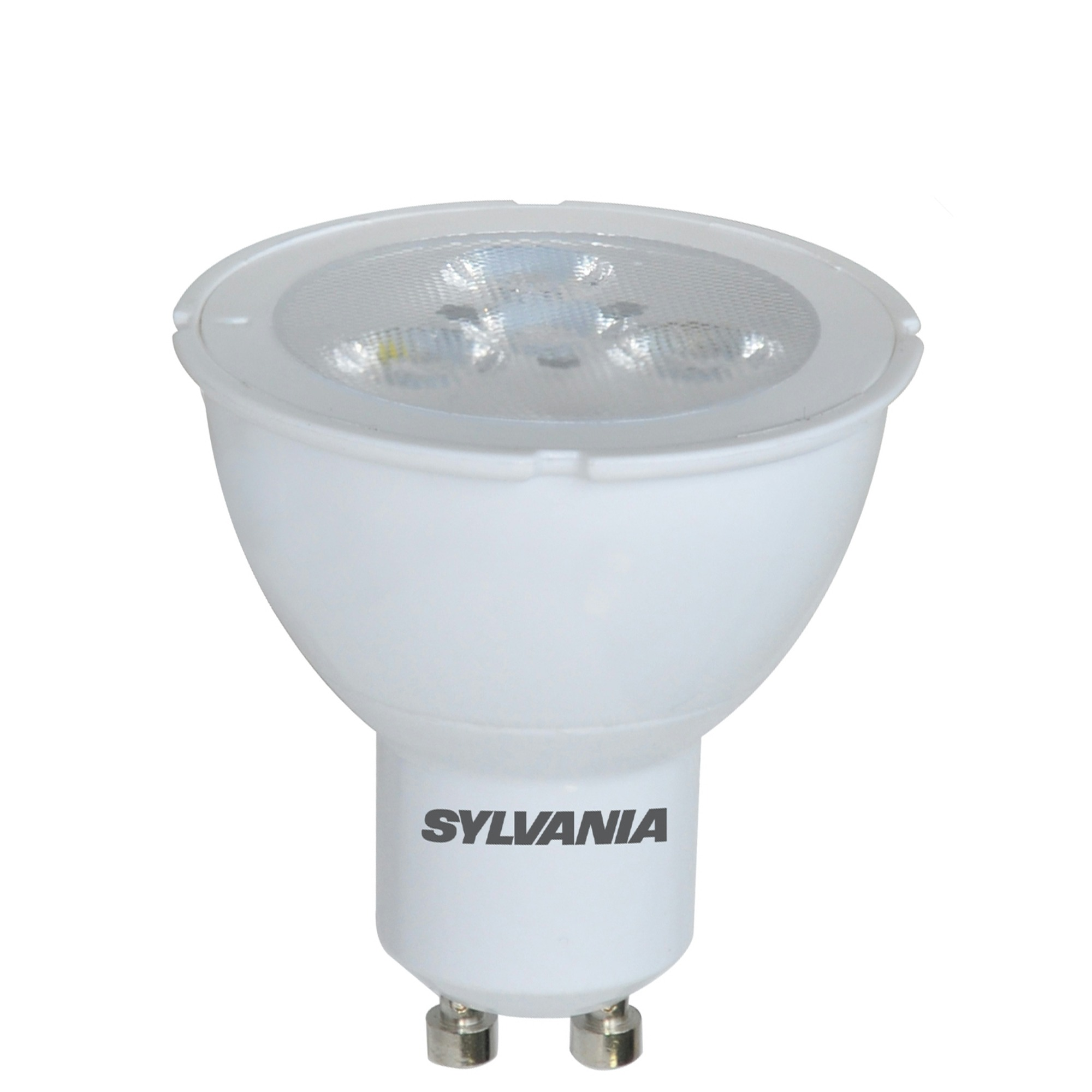 sylvania led spot gu10 345 lumen 5w 50w cool white led lampen lampen verlichting. Black Bedroom Furniture Sets. Home Design Ideas