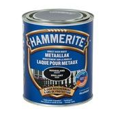 Hammerite metaallak hoogglans zwart 750 ml