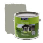 GAMMA beits tuinhuis kleur zijdeglans kleigrijs 2,5 L