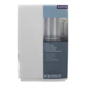 GAMMA Amber douchegordijn textiel polyester wit 180 x 200 cm