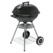 Houtskoolbarbecue kogel zwart