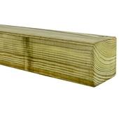 Tuinpaal 240x6,8x6,8 cm geïmpregneerd