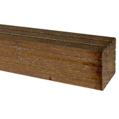 Paal hardhout 270x6,5x6,5 cm
