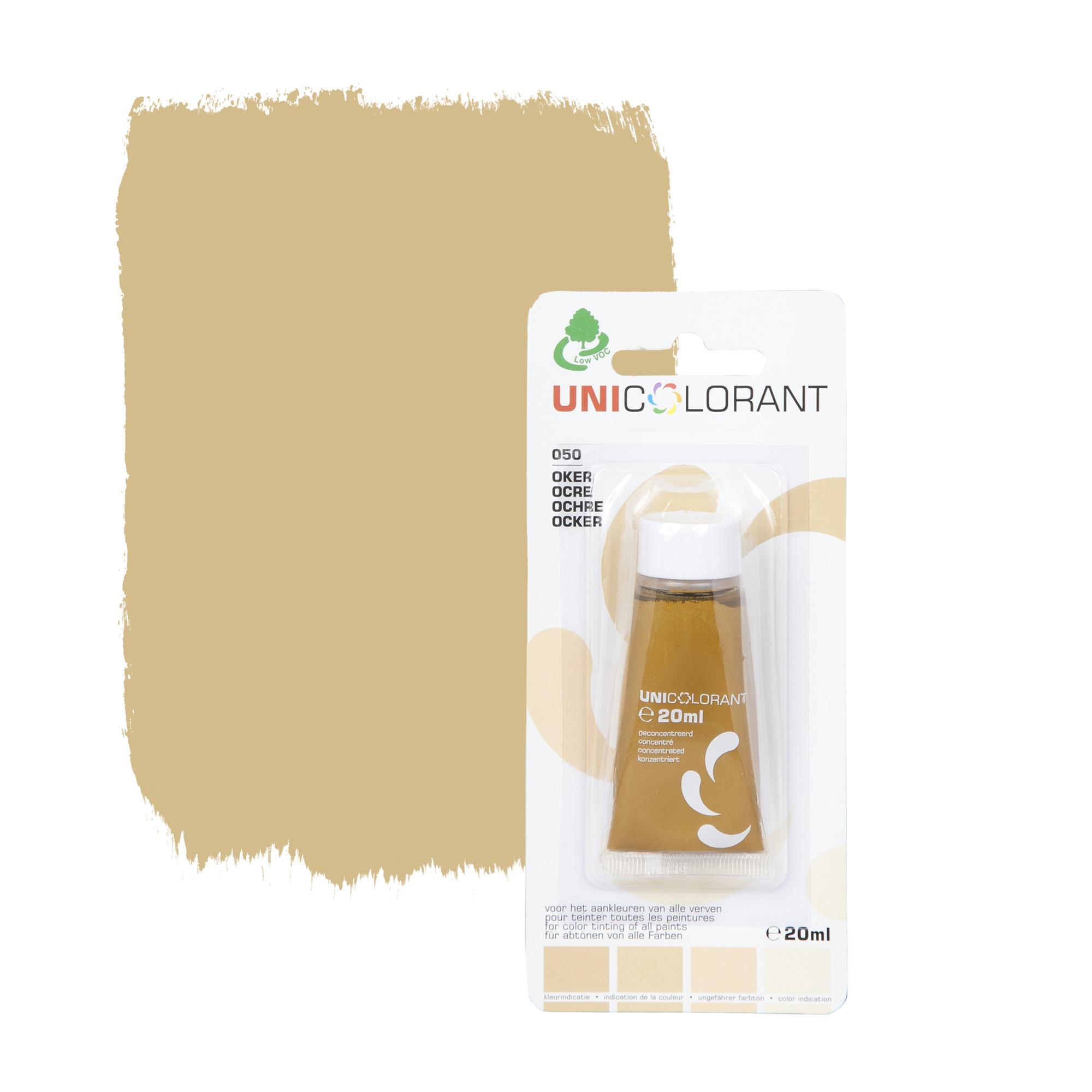 Colorant universel ocre 20 ml