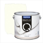 GAMMA Quality Line muurverf extra mat lily white 2,5 L