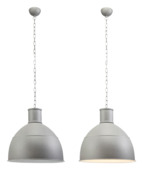 Tygo hanglamp E27 exclusief lamp max. 60W grijs