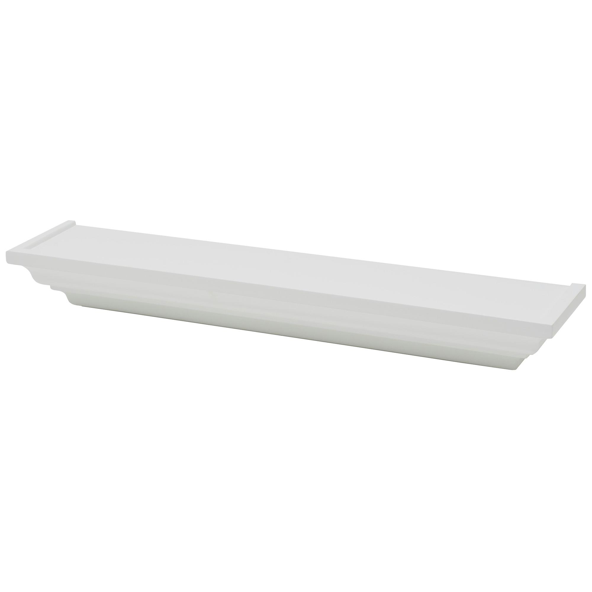 Tablette classique Duraline Ornament 60 cm blanc