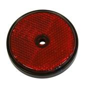 Reflector rond rood 70 mm 2 stuks