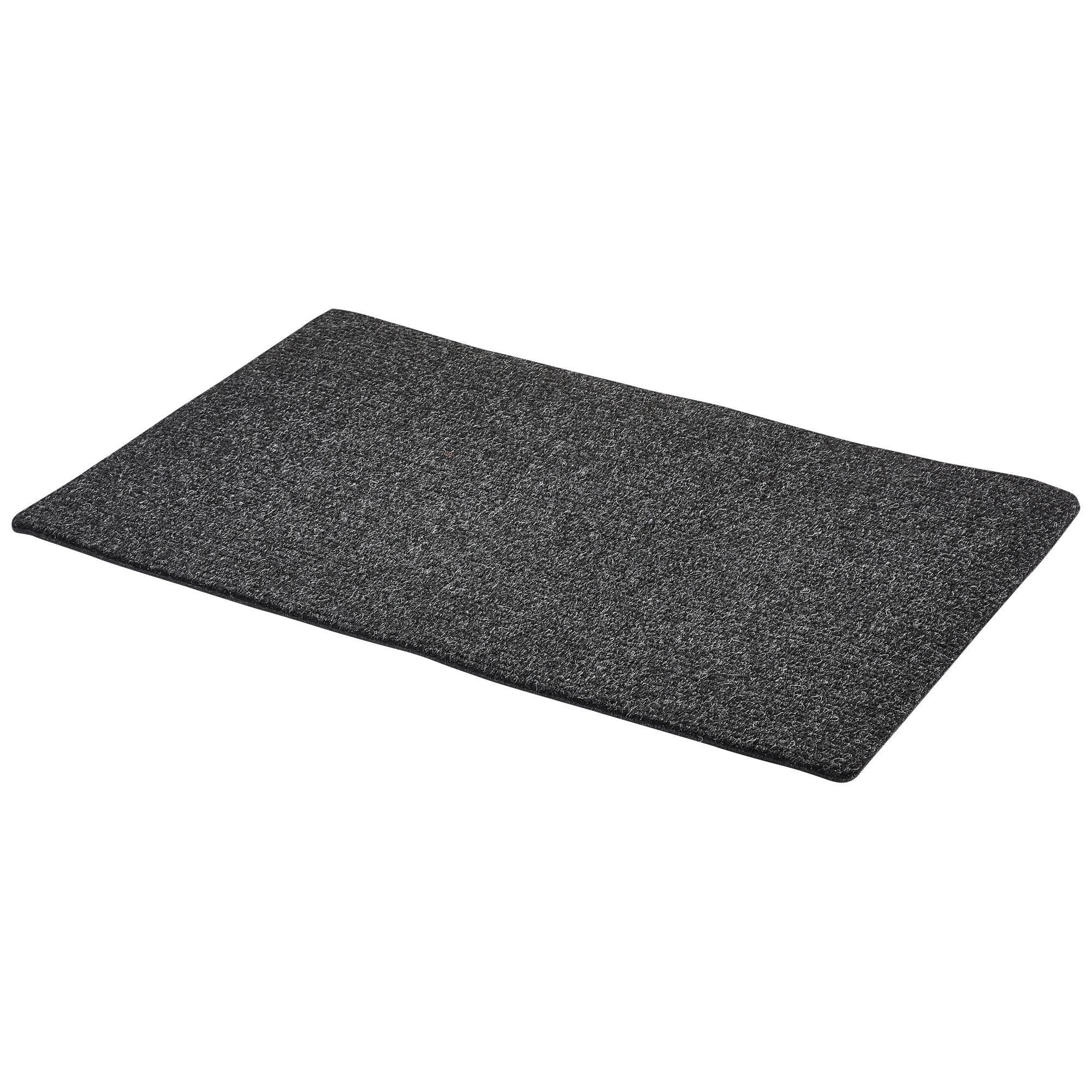 Schraapmat 50x80 cm zwart