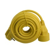 Exin verlengsnoer geel 3x1,5mm² - lengte 10 m