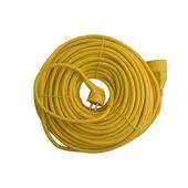 Exin verlengsnoer geel 3x1,5 mm² - lengte 40 m
