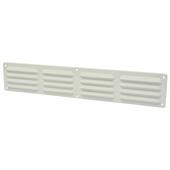 IVC Air ventilatierooster aluminium wit 49,5x9 cm