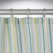 Sealskin Fiesta douchegordijn textiel polyester petrol groen 180 x 200 cm