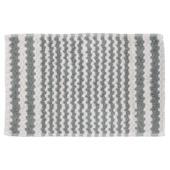 Sealskin Motif badmat katoen grijs 50 x 80 cm