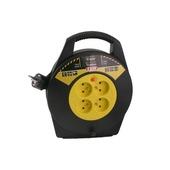 Exin kabelbox zwart-geel 3x1,5 mm² - lengte 10 m