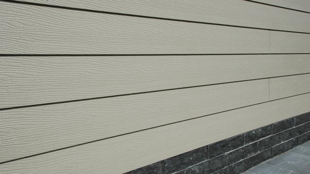 Gevel bekleden met hardschuim PVC panelen   GAMMA be
